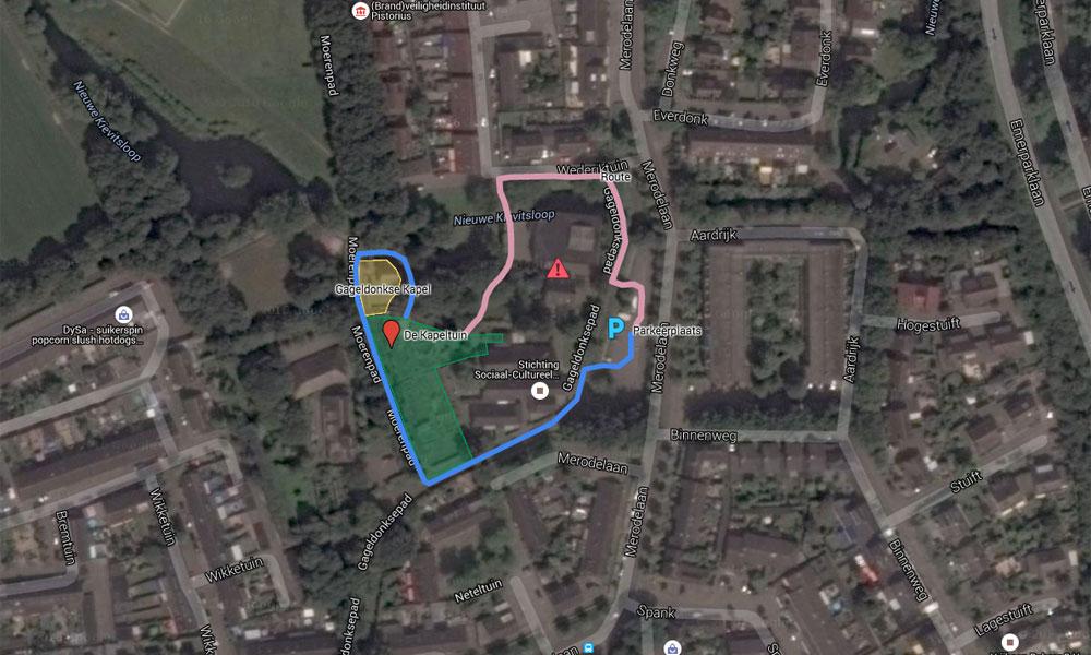kapeltuin-plattegrond